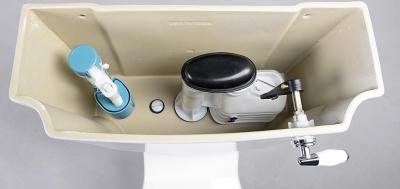 Aqualine ANTIK WC kombi retro + sedátko, bílá AK107
