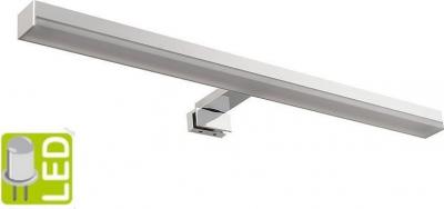 Sapho ALBA 4 LED svítidlo, 500x30x120mm, 6W, 230V, chrom 25868CI