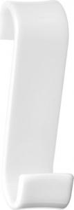 Gedy Háček na otopná tělesa, termoplast, bílá 202502
