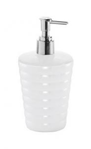 Aqualine GLADY dávkovač mýdla na postavení, bílá GL8002