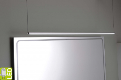 Sapho Led FROMT LED závěsné svítidlo 102cm 15W, hliník ED102