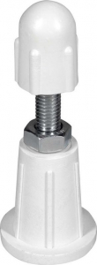 Aqualine Nožičky pro vaničku z litého mramoru (5ks/sada) Q95