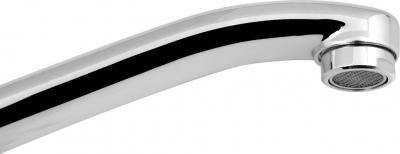 Sapho Výtokové ramínko kbaterii, 22cm, ploché zvýšené, chrom 43994