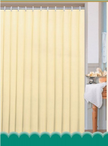Aqualine Závěs 180x200cm, 100% polyester, jednobarevný béžový 0201104 BE