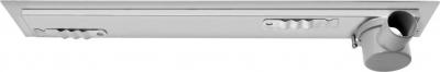 Aqualine KROKUS nerezový sprchový kanálek s roštem, ke zdi, 960x122x85 mm 2715-10