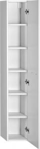 Aqualine ZOJA/KERAMIA FRESH skříňka vysoká 25x140x20cm, bílá 51125