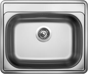 Nerezový dřez Sinks COMFORT 600 V 0,6mm matný MP68305