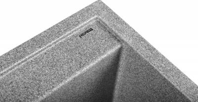 Sapho Dřez granitový vestavný mono, 57x51 cm, šedá GR1003