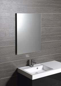 Sapho PLAIN zrcadlo 50x70cm, zakulacené rohy, bez úchytu 1501-25
