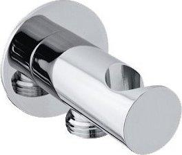 Sapho Držák sprchy kulatý, pevný, s vyústěním, chrom SG203