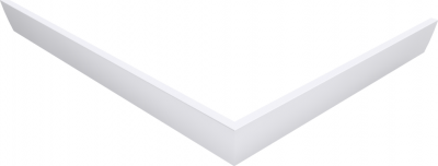 Polysan KARIA 120x70 rohový panel, výška 11 cm, levý 47812L