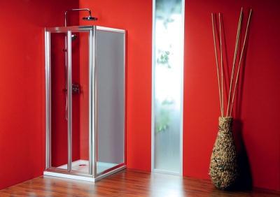 Gelco SIGMA sprchové dveře skládací 900 mm, čiré sklo SG1829