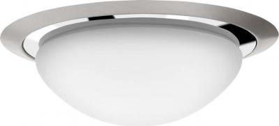 Sapho METUJE stropní LED svítidlo pr.28, 5cm, 12W, 230V, chrom/broušený nerez AU467