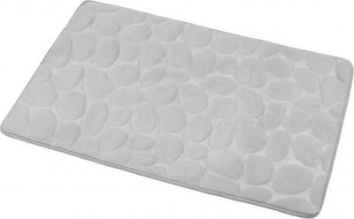 Aqualine Koupelnová předložka, 50x80 cm, 100% mikrovlákno, protiskluz, šedá KA1141