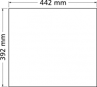 Granitový dřez Sinks FRAME 457 Titanium ACRFR45740672