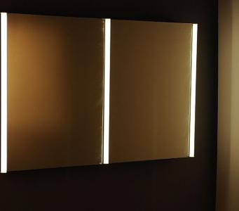 Sapho ALIX galerka s LED osvětlením, 120x74, 5x17cm AL270