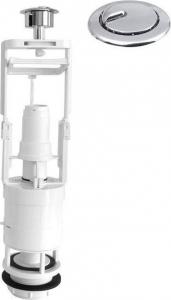 Aqualine Úsporný splachovací ventil, dvojtlačítko OVDC001