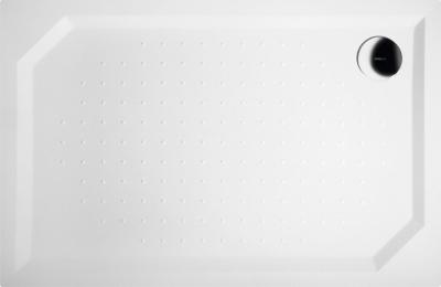 Gelco SARA sprchová vanička z litého mramoru, obdélník 120x80x4cm GS12080