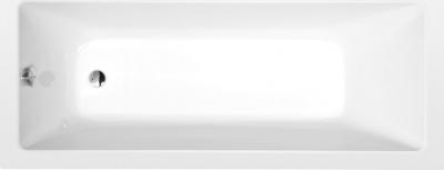 Polysan NOEMI obdélníková vana 160x70x39cm, bílá 71707