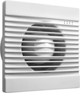 Aqualine Koupelnový ventilátor, 230V/50Hz, 100mm, bílá FBS300