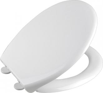 Aqualine SOFIA WC sedátko, Soft Close, polypropylen, bílá BS122