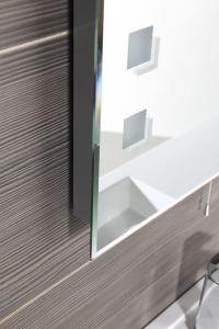 Aqualine Zrcadlo 60x80cm, podsvícené ATH26