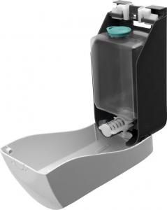 Aqualine Dávkovač tekutého mýdla nástěnný 1000ml, bílý 1319-73