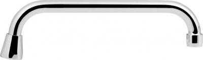 Sapho Výtoková hubice tvar U, prům. 18mm, L 278mm, 3/4', chrom 15U250
