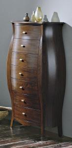 Gallo Wood ISOTTA doplňková skříňka se zásuvkami 74x142x36cm, noce CI-74