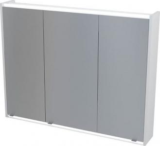 Sapho BATU galerka 100x71x16 cm, 2x LED osvětlení, bílá 1141130
