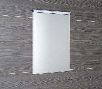 Sapho BORA zrcadlo v rámu 500x700mm s LED osvětlením a vypínačem, chrom AL757