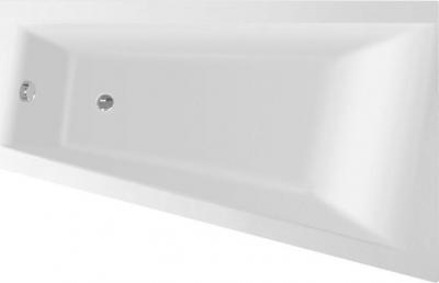 Aqualine METUJE vana 160x100x42cm, bez nožiček, pravá, bílá G2611