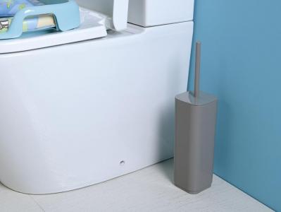 Aqualine SEVENTY WC štětka na postavení, šedá 633408