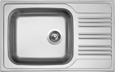 Nerezový dřez Sinks STAR 780 XXL V 0,7mm matný STSSTM7805007V