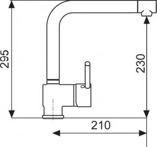 Sinks MIX 3 lesklá MP68052