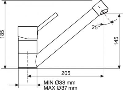 Sinks MIX 4000 lesklá MP68056