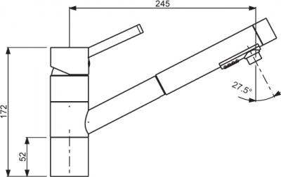 Sinks MIX 4000 PLUS S lesklá MP68058