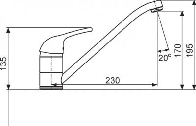 Sinks VENTO 4 lesklá MP68077