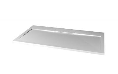 Gelco IRENA sprchová vanička z litého mramoru, obdélník 120x90x3, 5cm HI12090