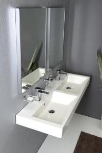 Sapho TOLOSA LED podsvícené zrcadlo 500x800mm, chrom NL623