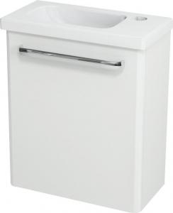 Sapho LATUS VII umyvadlová skříňka 43, 6x50x19, 5 cm, pravá, bílá 55910