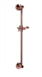 Reitano Rubinetteria ANTEA posuvný držák sprchy, 570mm, růžové zlato SAL0037