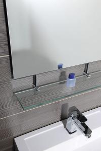 Sapho WEGA zrcadlo 500x800mm, s policí 60092-5
