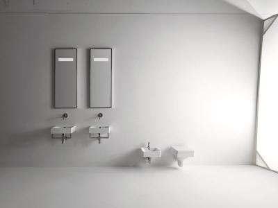 Kerasan CENTO závěsná WC mísa, 36x50cm, bílá 351401