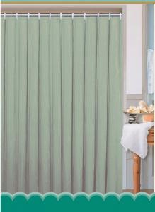 Aqualine Závěs 180x180cm, 100% polyester, jednobarevný zelený 0201103 Z