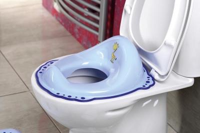 Aqualine Dětské WC sedátko Žirafa, modrá 1526