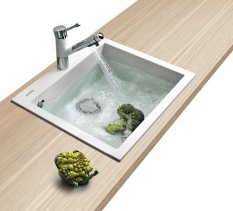 Granitový dřez Sinks CUBE 560 Milk TLCU56050028