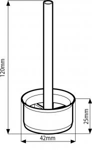 Geberit Díl proti vzdutí, ke splachovacím nádržkám pod omítku GEBERIT 240.476.00.1