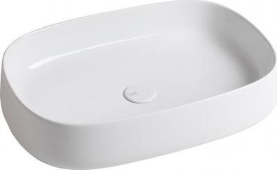 Sapho JUMPER keramické umyvadlo, 60x13x40 cm, na desku, bez přepadu WH070