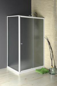 Aqualine AMADEO posuvné sprchové dveře 1200 mm, sklo BRICK BTS120